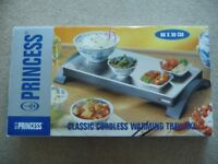 Princess warmer / hot plate. Large 60cm x 30cm size. Excellent condition with box.