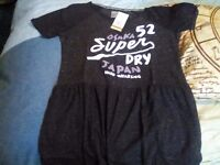 Superdry dress, brand new with tags, size S, unwanted gift.