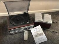 Steepletone turntable cd radio system Model SMC98R