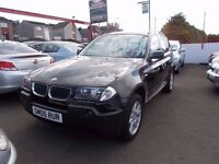 *BMW X3 D SE*2.0 DIESEL*4 WHEEL DRIVE*1 LADY DOCTOR OWNER*6 STAMP HISTORY*FULL YEARS MOT*ONLY £4995*