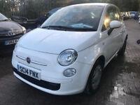 2014 Fiat 500 AUTOMATIC =1242cc - 70 BHP - £20 Year Road Tax
