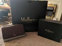 Real mulberry purse
