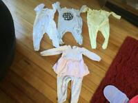 Baby grow BUNDLE 6-9 months, 4 items. IMMACULATE CLEAN CONDITION JUST BEEN WASHED.