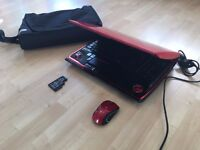 GAMING TOSHIBA QOSMIO X300 LAPTOP, 4GB RAM,BAG & MOUSE, NVIDIA GeForce 9700 GTS