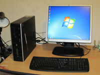FAST PC Dual-Core 2.80GHz x 2.. 3gb ram. 19 inch large screen LCD....PC setup for sale