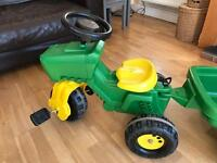 Rolly Tractor With Trailer