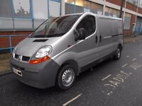 2006 RENAULT TRAFIC LL29 100DCI 19TD YEAR MOT AIRCON ELECTRIC PACK TWIN SIDE LOADING REAR PLY