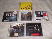x6 CD's - Boyzone,Ronan,Westlife,Take That - vgc