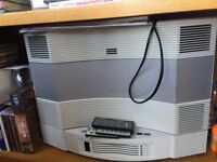Bose multi cd and radio system and Bose single cd and radio system