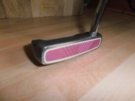 A BENROSS Pure Red V Groove Putter