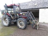 CASE INTERNATIONAL 785XL 4wd with front end loader