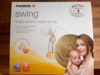 Medela swing electric breast pump - as new only used for a week!