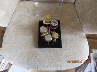 ADULT COLLECTORS MINI DRUM KIT -NEW - £30 - Display Box -£10