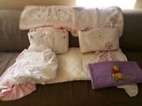 Crib Bedding And matttess