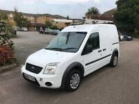Ford transit connect lwb 1.8 tdci-2010-side door-roof rack-ready for work-part ex welcome