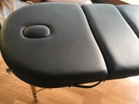 Beauty Therapy Massage Table in Black