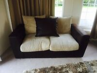 A two piece and two and a half piece sofa. Immaculate condition comes from a smoke/ pet free home.