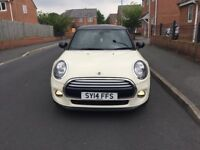 2014 MINI COOPER 1.5 3DR LOW MILES WHITE