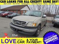 2000 Ford F-150 XLT * FRESH TRADE * AS IS