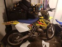 *** Rm125cc 2010 on road swap px car van ****