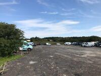 Renting yard land space car parking storage