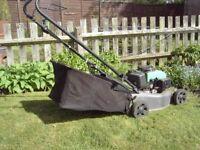 Lawnmower, petrol OHV. 420mm rotary cut.