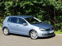Volkswagen Golf 2.0 GT 140BHP Bluemotion 5 door Leather Interior FSH 66k miles