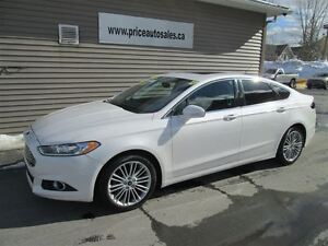 2013 Ford Fusion SE-NAVIGATION-HEATED LEATHER-SUNROOF!!!