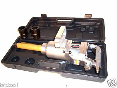 "AIR IMPACT WRENCH LONG SHANK 1900 FT/LB 1"" DRIVE TRUCK LUG NUT REMOVER 1"" DR"
