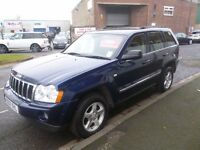 Jeep GRAND CHEROKEE CRD,2987 cc 4x4,full MOT,heated leather interior,nice clean tidy 4x4,runs well