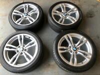 Bmw 1-3-4 series 18 m sport alloys alloy wheels