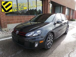 2012 Volkswagen Golf GTI 5-Door 6 Speed Leather, Sunroof