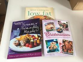 Weight watchers and low fat book