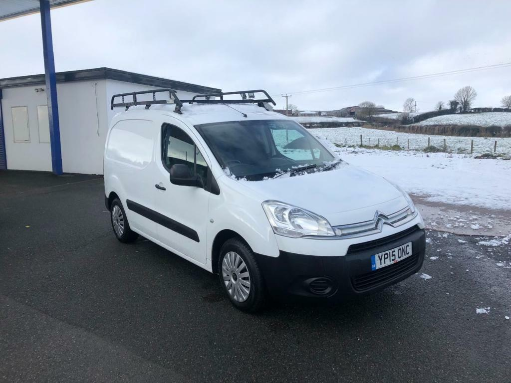 e0adfaf844 CITROEN BERLINGO 1.6 625 ENTERPRISE L1 HDI 1d 74 BHP CITROEN WARRANTY  (white) 2015