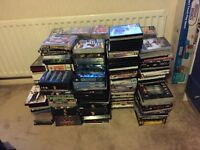 Massive job lot of DVDs and CDs
