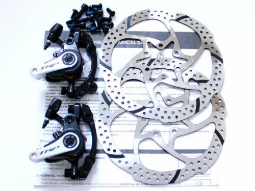 TRP Spyre Dual Side Actuation Mechancial Disc Brake Set w/160mm Rotor F & R