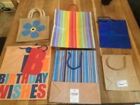 Gift Bags - Free to collector