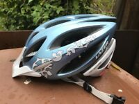 Ladies Cycle Helmet, NEW & Unworn, light metallic blue