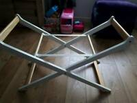 Foldable Moses basket stand -Mothercare