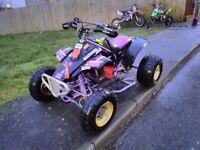 Yamaha tri z 250 quad