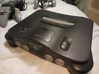 Nintendo 64 N64 Games Console Bundle 8 Games (Mario Kart 64, Pokemon Stad, +)