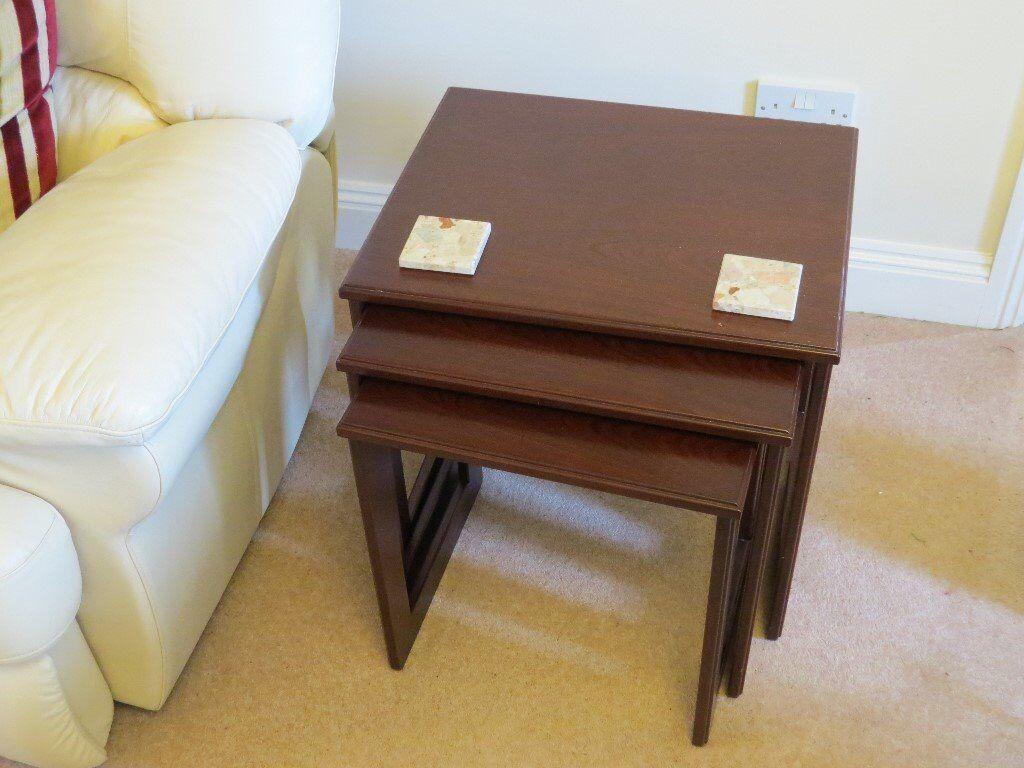 Nest Of Tables Mahogany Garrick G Plan
