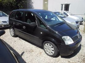 VAUXHALL Meriva LIFE, MPV, 1.6 Petrol, 5 Door Hatchback, 2004-04 plate