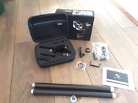 Feiyu Tech G4S GoPro Gimbal - New - Includes Box, Case, Carbon Extensions + MORE
