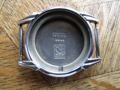 MDG Vintage UNIVERSAL GENEVE Chromed Case For Parts. 32,6 mm.