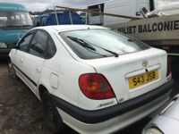 TOYOTA AVENSIS 2000 YEAR PARTS