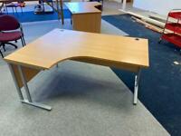 Left hand corner desk ( office furniture warehouse)