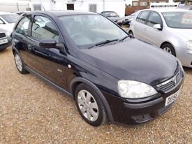 Vauxhall Corsa 1.2 i 16v SXi Hatchback 3dr Petrol Manual, LONG MOT. HPI CLEAR. LADY OWNER. 2 KEYS