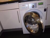 Samsung Ecobubble Washer Dryer, 8kg drum, Air Refresh feature, perfect condition, 7 years' warranty!