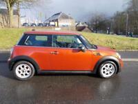 MINI HATCH ONE 1.6 ONE 3d 98 BHP (orange) 2011